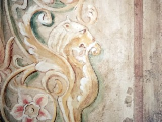 Fresco wall painting