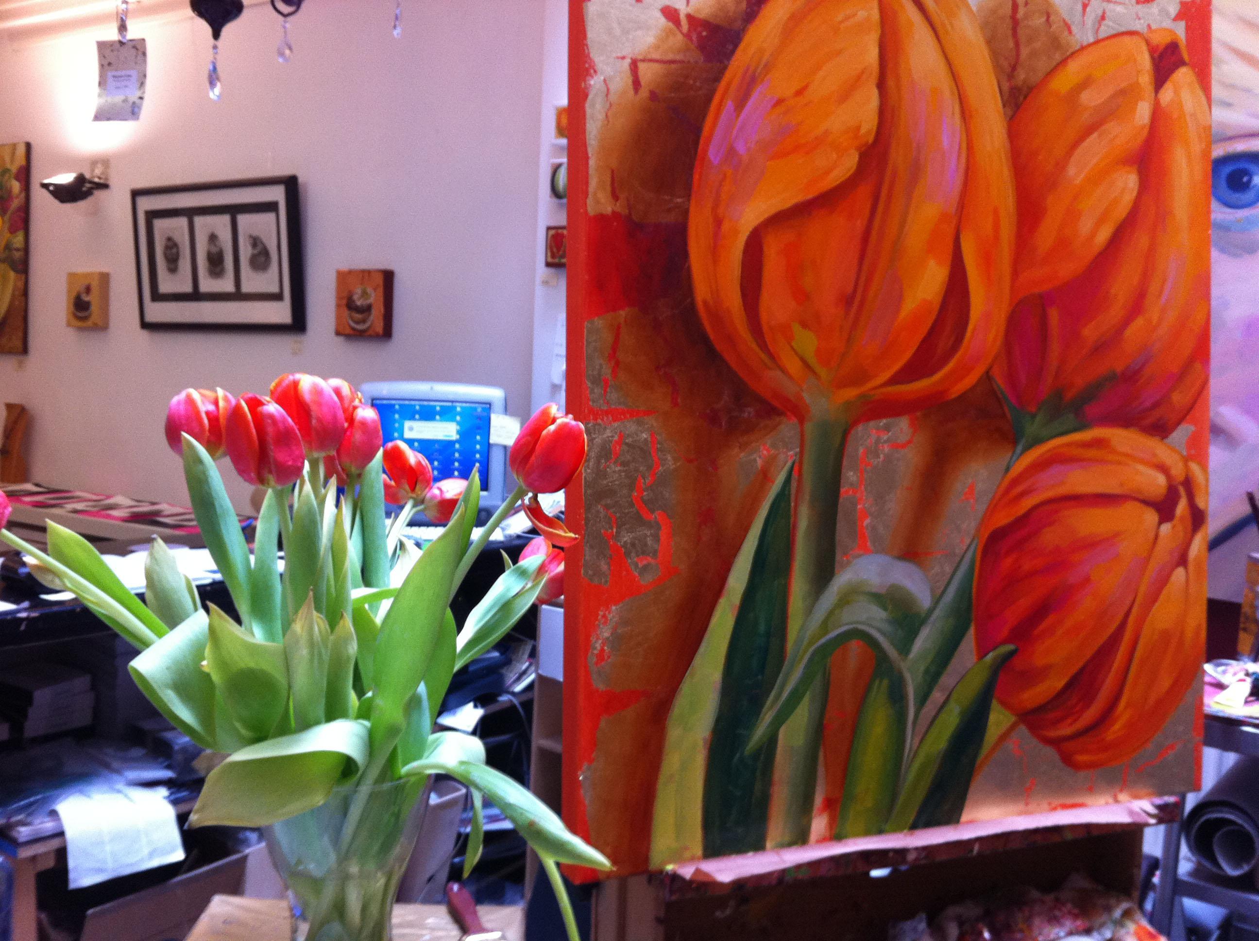 tulipani arancio